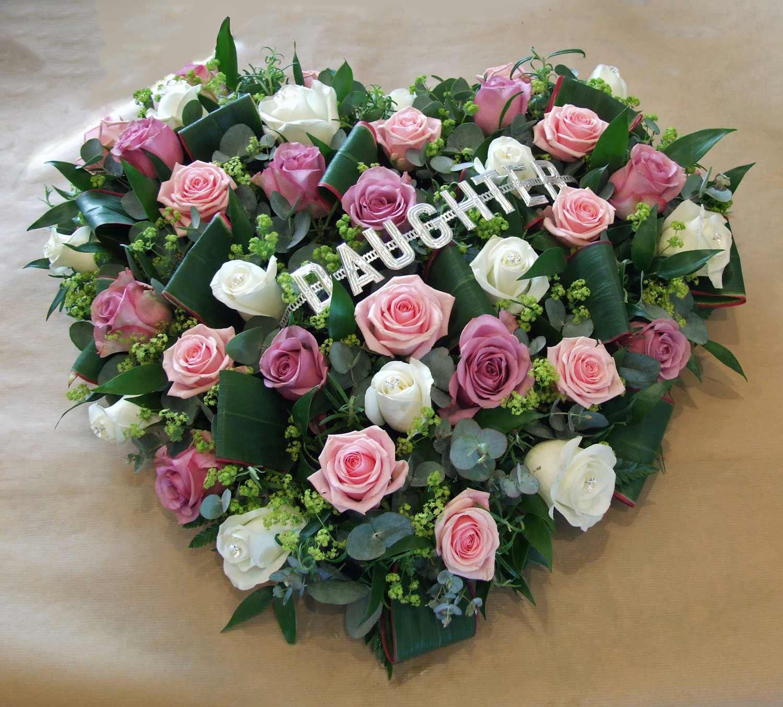 tribute flowers arrangement